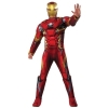 Marvels Civil War Mens Iron Man Deluxe Costume